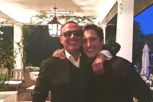 Diego Boneta y Luis Miguel