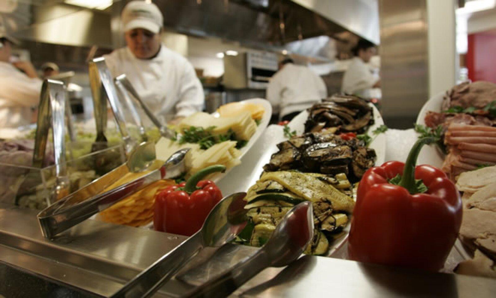 Una instantánea de la cocina que tiene la tecnológica en sus cuarteles generales, en Mountain View, California.