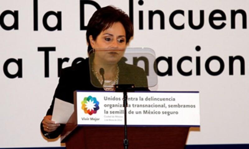 Patricia Espinosa, secretaria de Relaciones Exteriores, asegura que México tiene una posición firme contra el proteccionismo. (Foto: Notimex)