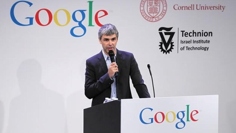 Larry Page queda sin voz