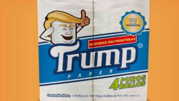 papel higi�nico Trump
