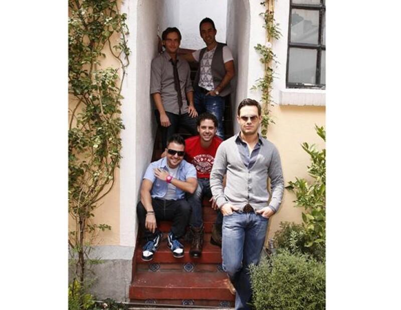 El grupo de pop mexicano se encuentra muy feliz por el próximo lanzamiento de su nuevo álbum discográfico.