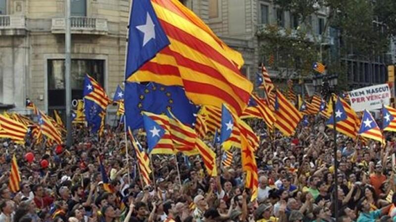 Reuters- manifestación por la independencia de cataluña