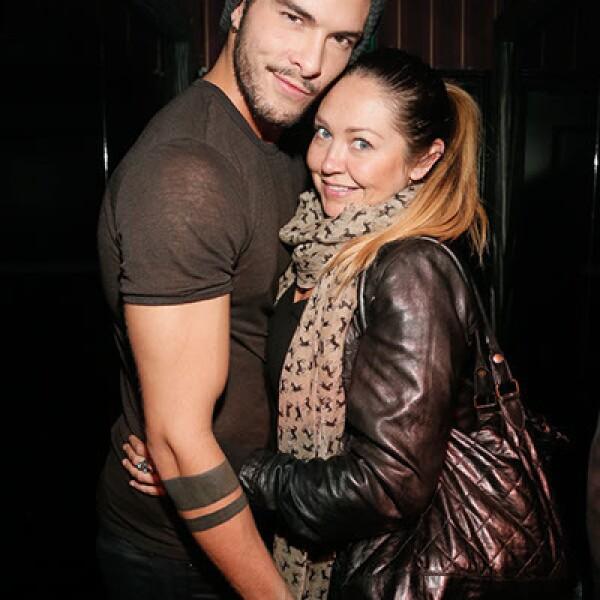 Danny Rey y Vanesa Coliz.