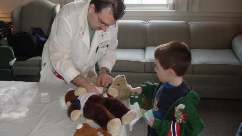 hospital peluches teddy klinik berlin