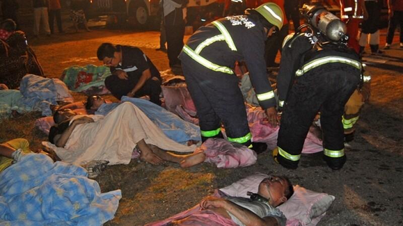 Incendio hospital Taiwan