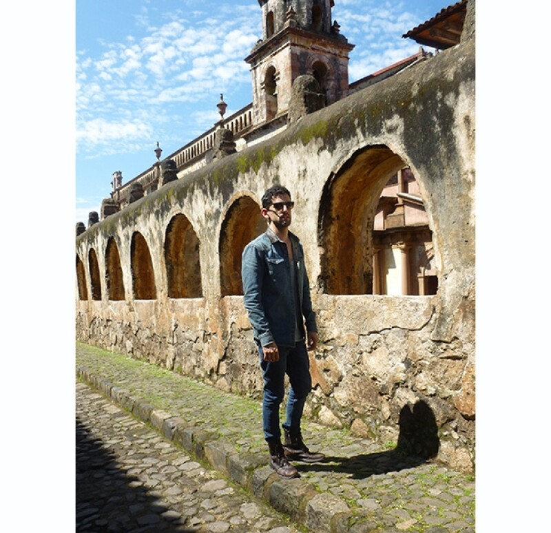 El actor disfrutó el viaje como todo un turista. Tomó fotos y se dejó consentir por la magia del lugar.