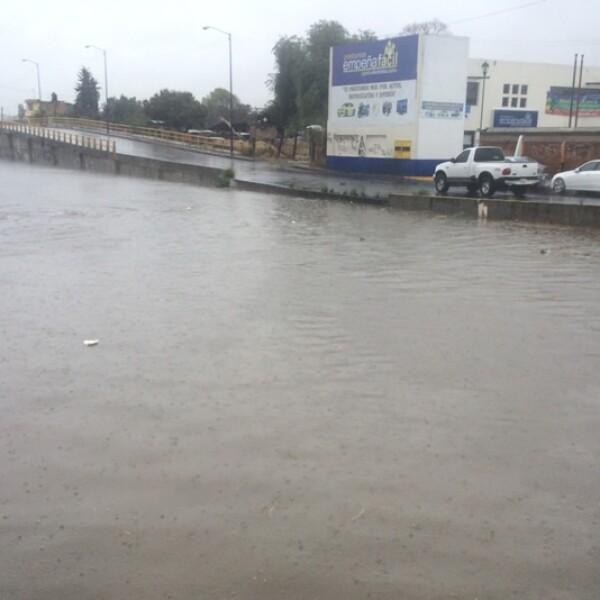 Lluvia en Morelia