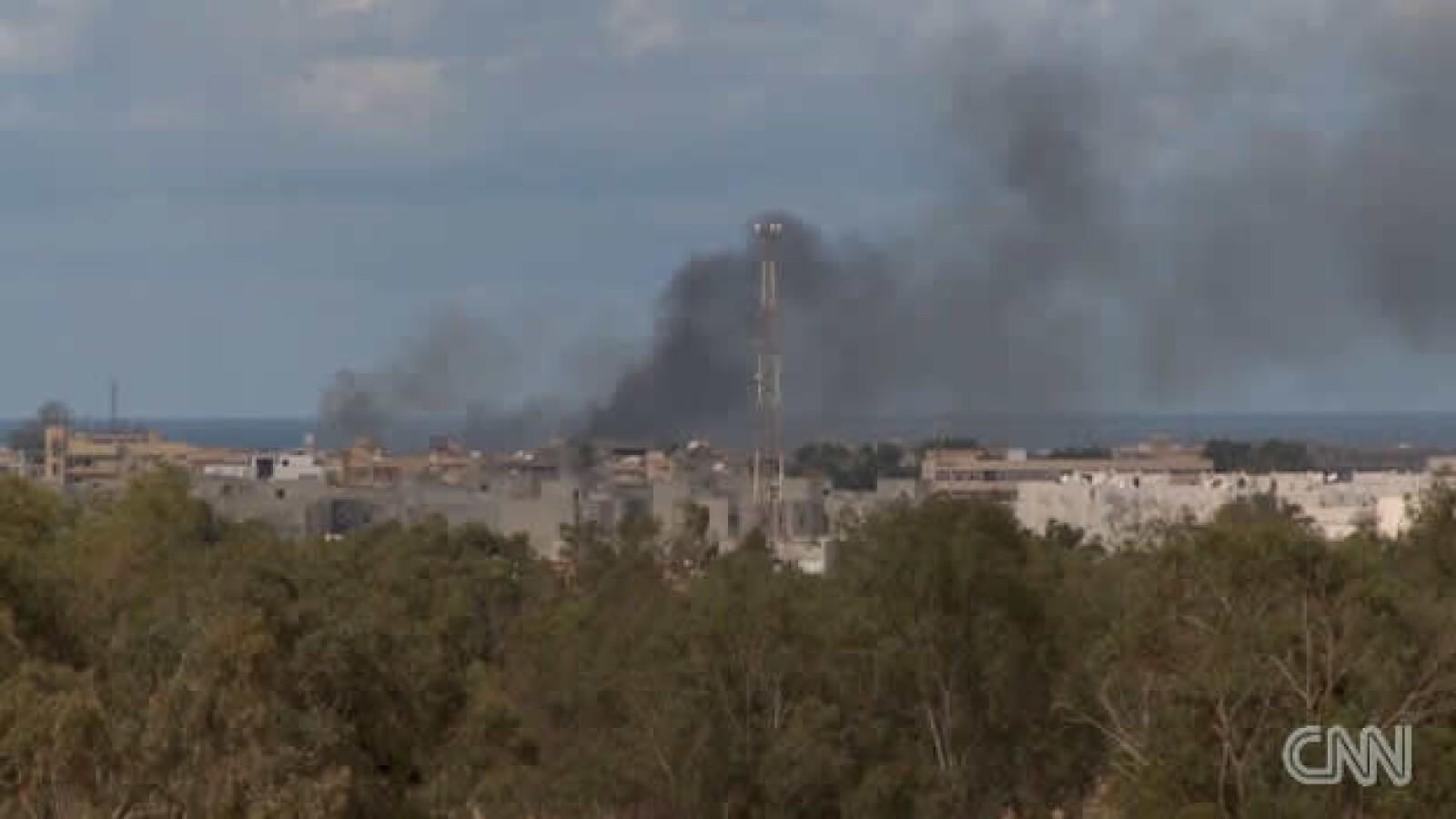 Libia - Sirte - bombardeos