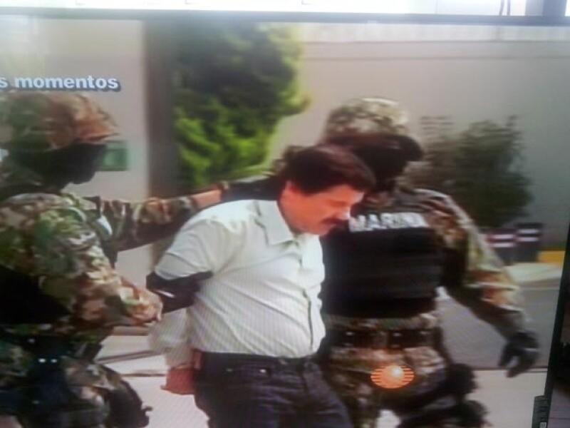 Jesús Murillo Karam, Procurador General de la República, informó en conferencia de prensa que el día de hoy a las 6:40 de la mañana fue capturado Joaquín Guzmán Loera en Mazatlán.