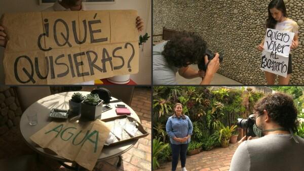"""""""Quiero volver a la normalidad"""", las fotos que capturan deseos de cuarentena"""