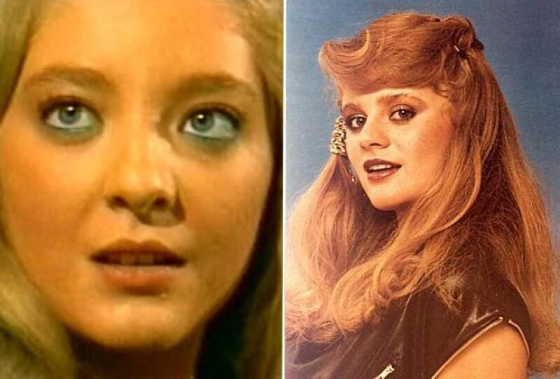 Edith González era una de las niñas más guapas en la década de los 80 y Erika Buenfil no se quedaba atrás.