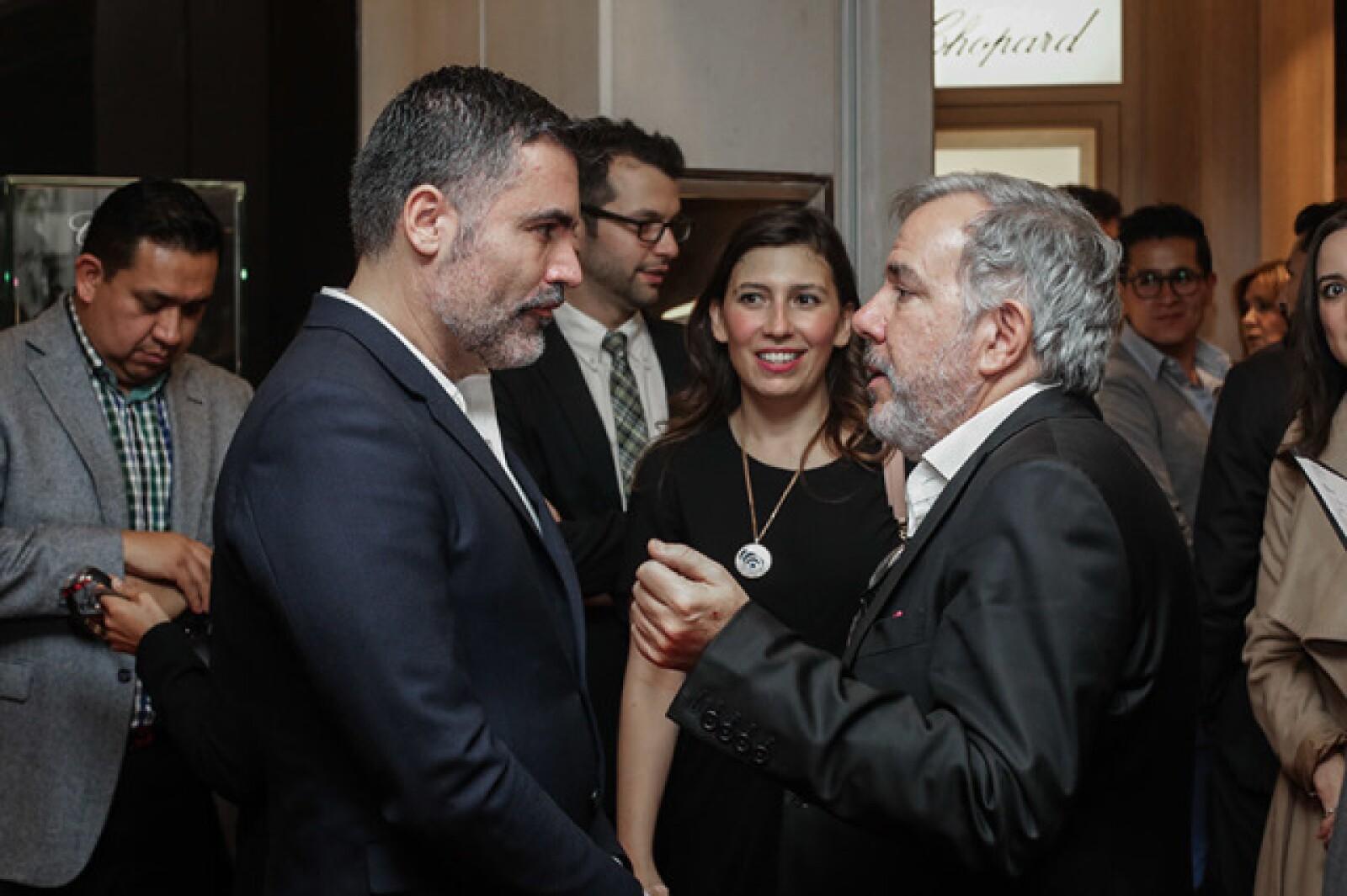 Nino Bauti y Javier Fernández de Angelo