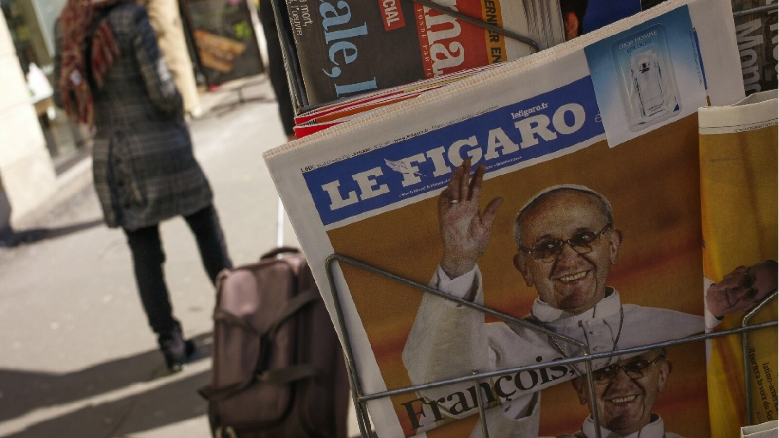 pope francis le figaro getty