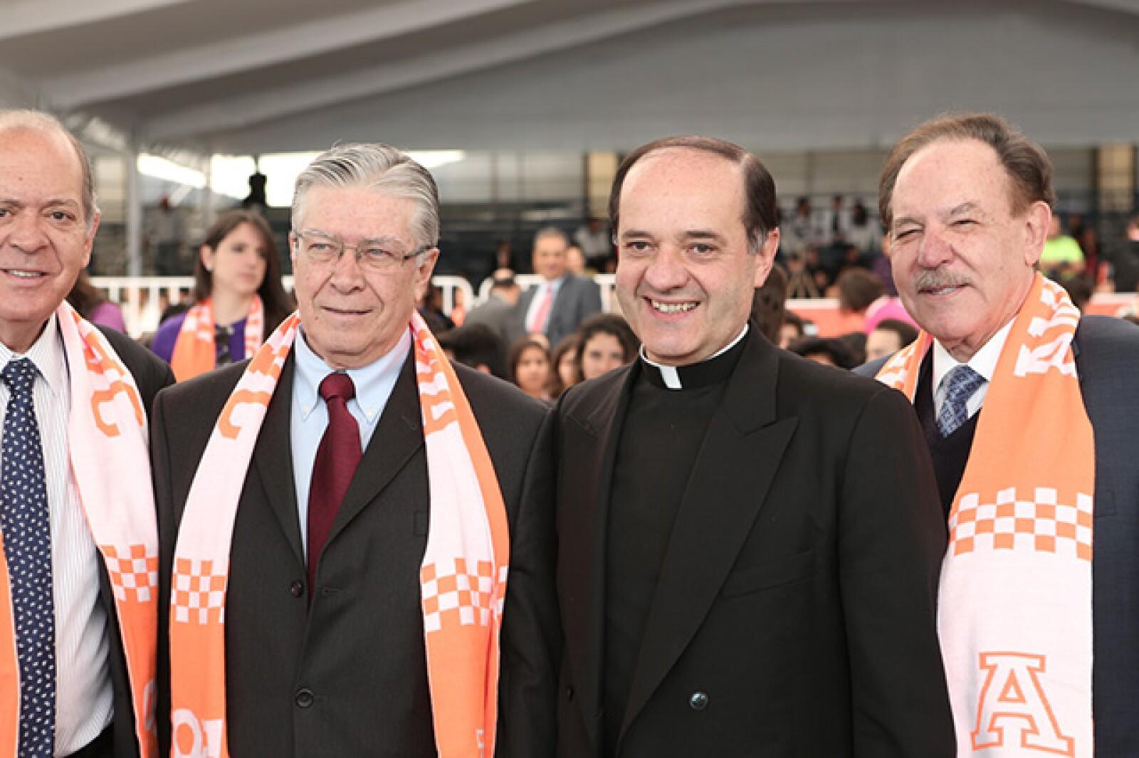 José Gómez, Jesús Quirce y Carlos Autrey