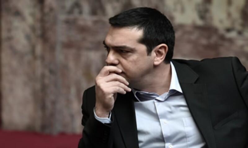 Grecia, dirigida por Alexis Tsipras, necesita iquidez para hacer frente a importantes vencimientos.  (Foto: AFP )