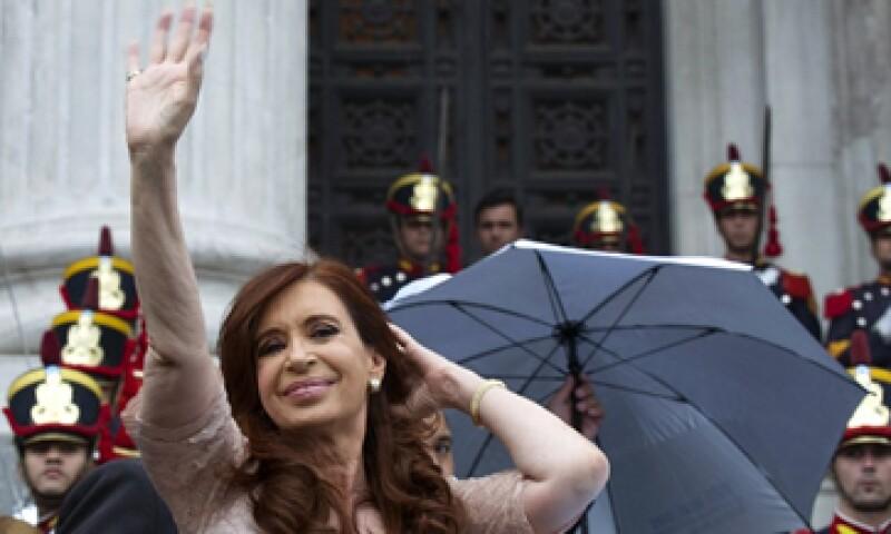 La presidenta de Argentina Cristina Fernández, entre quienes han presentado el trastorno, según el neurólogo David Owen. (Foto: AFP)