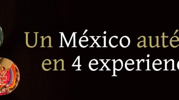 Header Un México auténtico en 4 experiencias
