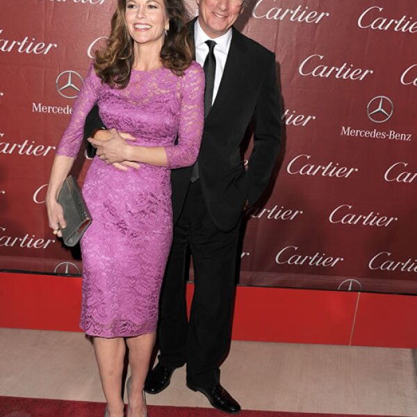 Diane Lane y Richard Gere.