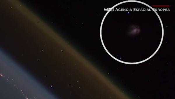 Un cohete espacial ruso fue captado saliendo de la atmósfera terrestre