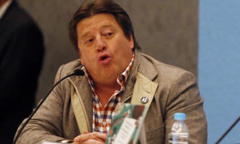Herrera asegura que sólo empujó al comentarista, según versiones de la prensa local. (Foto: Cuartoscuro )