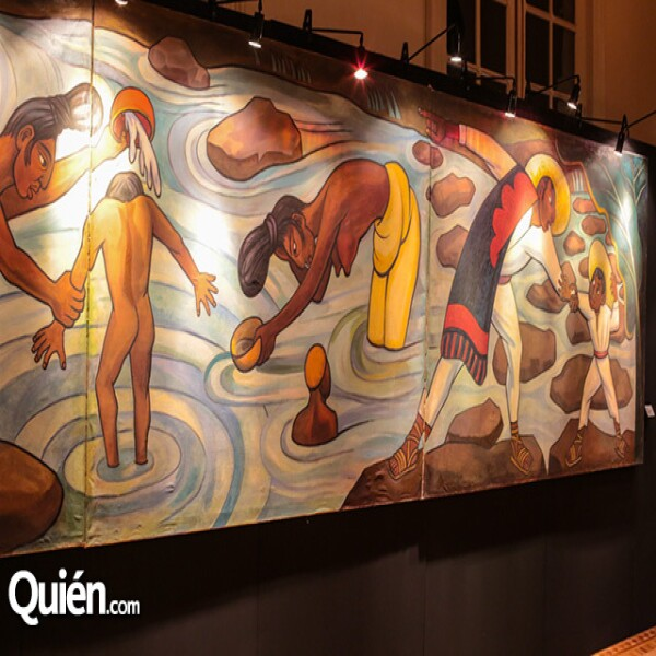 Diego Rivera Río Juchitan Óleo