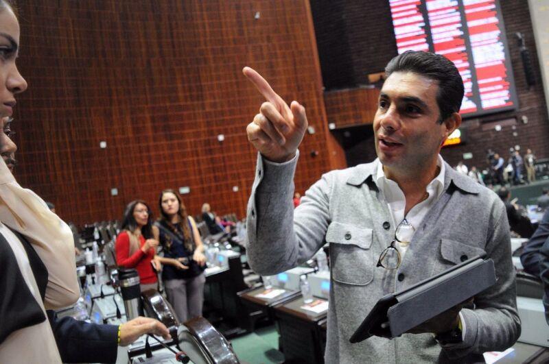 Jesús Sesma, líder de PVEM en la CDMX