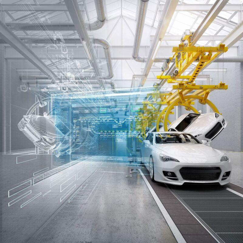 El Laboratorio de GM tiene las tecnologías necesarias para saber cómo armar un vehículo en una fábrica digital.