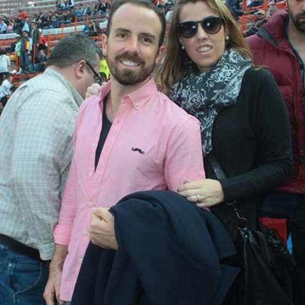 José Jr. y Maite Martínez Vertiz