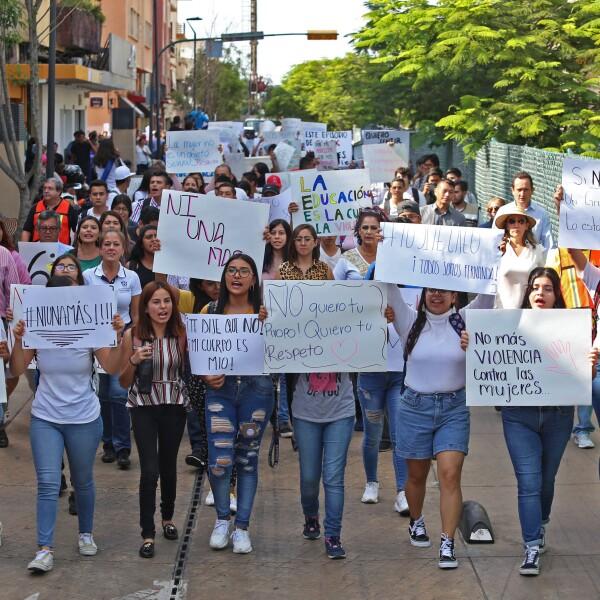 Marcha en Guadalajara 2
