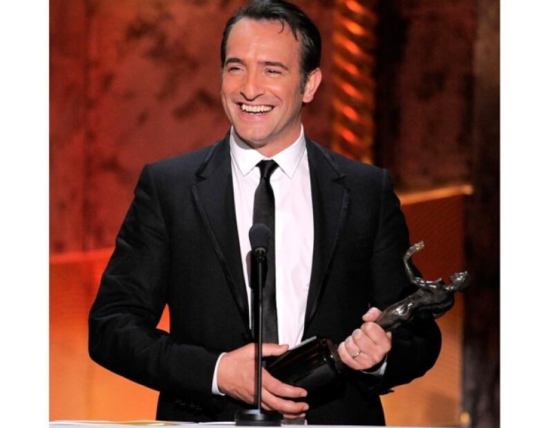 Dujardin obtuvo el premio a Mejor Actor de Largometraje.