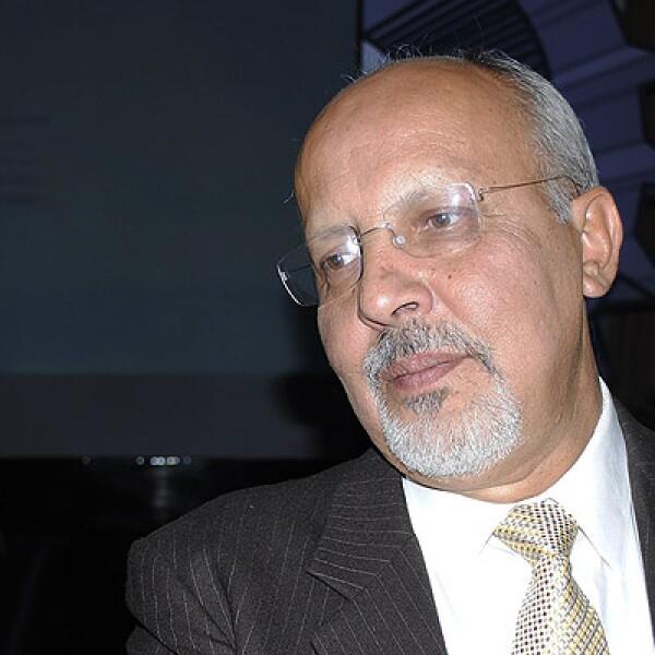 Uno de los invitados de honor. Daniel Castillo, copnsultor en gestión energética, ganador en 2004.