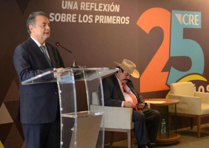 Pedro Joaqu�n Coldwell en el 25 aniversario de la CRE