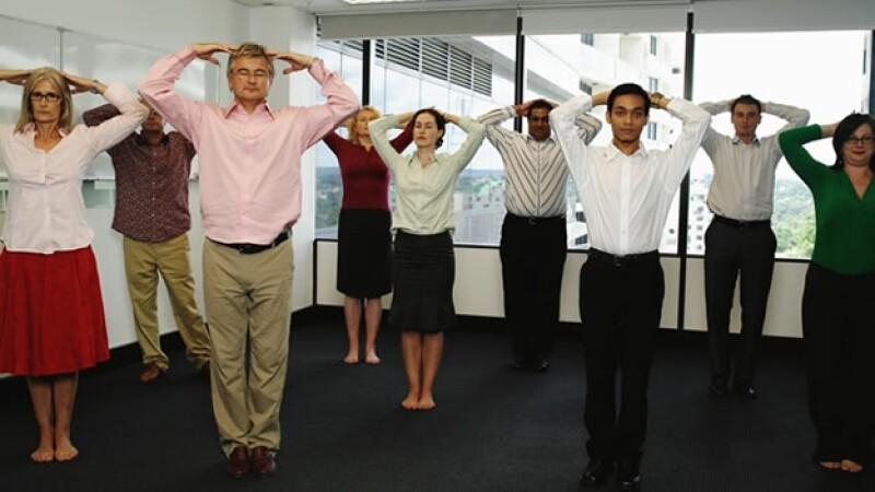 ejercicio en el trabajo