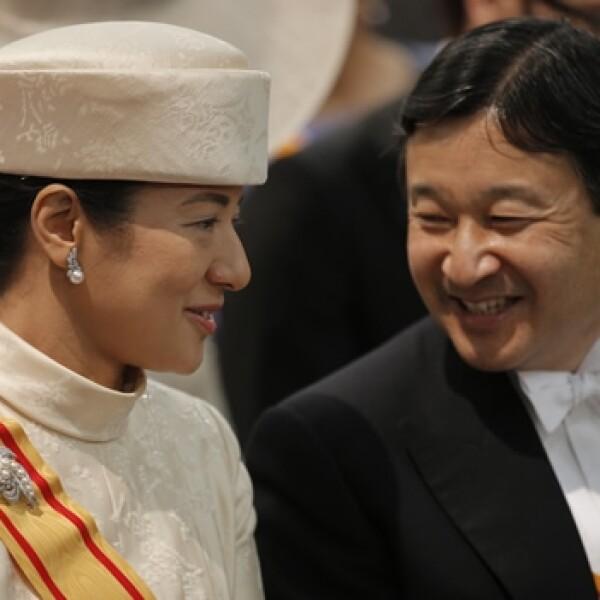 Principes herederos Japon Masako Naruhito