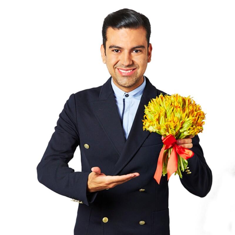 Mariano Sandoval siempre tiene una sonrisa para los televidentes de Venga la Alegría.
