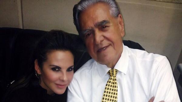 De acuerdo con Eric del Castillo, la actriz está dispuesta colaborar con las autoridades pues tiene pruebas de que no incurrió en algún hecho ilícito.