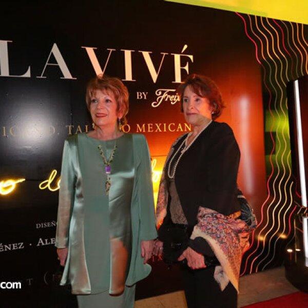 Nelly Machiavelo y Odette de Anda