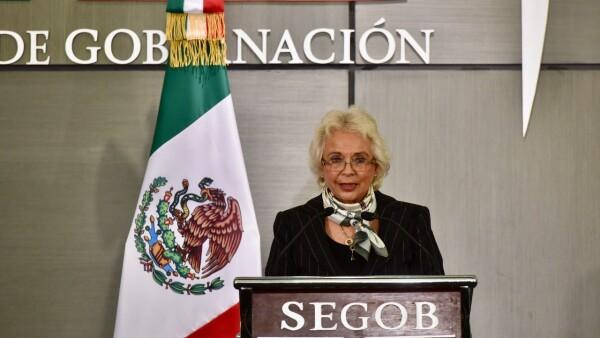 Segob Olga Sánchez Cordero