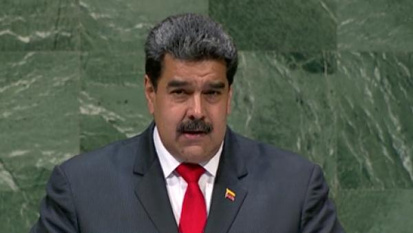 """Maduro denuncia ante la ONU la """"arremetida feroz"""" de EU contra Venezuela"""