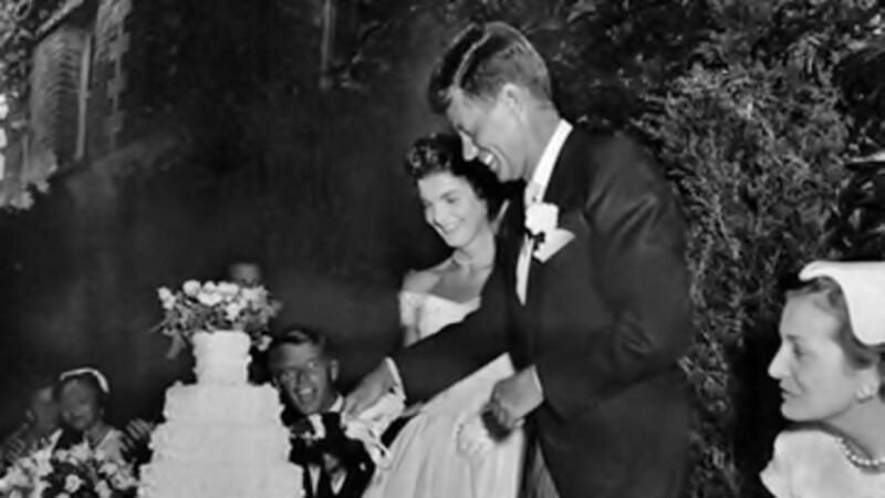 Jackie y John F. Kennedy