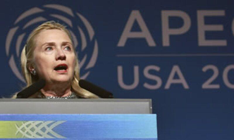 La secretaria de Estado, Hillary Clinton, dijo que muchas fuerzas en el exterior de la región del Pacífico tendrán impacto en ésta. (Foto: AP)