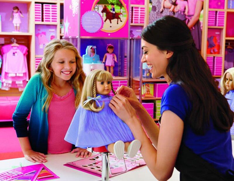 Dentro de las cosas que ofrecerá American Girl en el Palacio de Hierro, estará el salón de belleza.