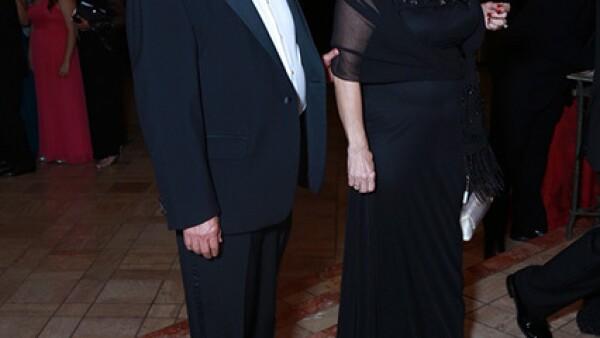 Jesús Elizondo y Rebeca González