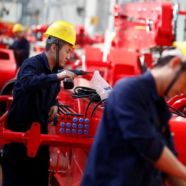 Economiá global recesión manufactura