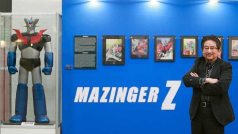 robot mazinger z y su creador