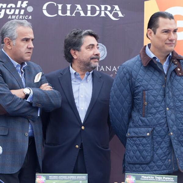 Guillermo Dávila,Ricardo Garrido y Mauricio Trejo
