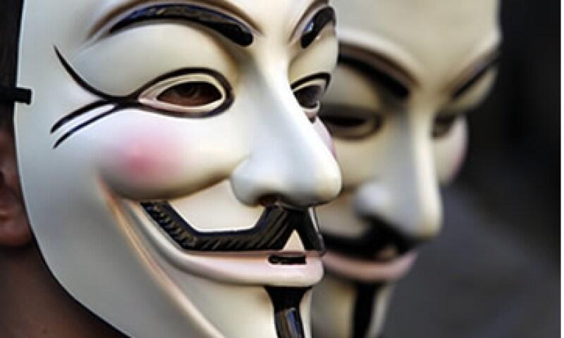 Anonymous amenazó con revelar los nombres de gente ligada al grupo de sicarios Los Zetas. (Foto: Reuters)