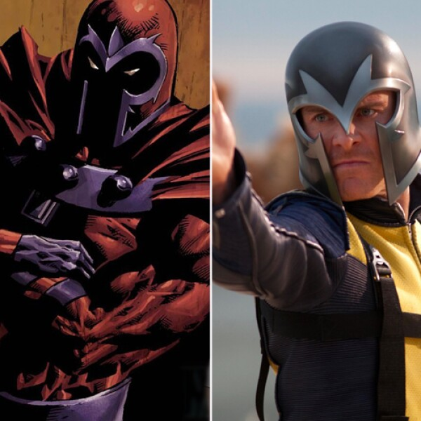 Michael Fassbender interpretó al villano Magneto en `X Men primera generación´.