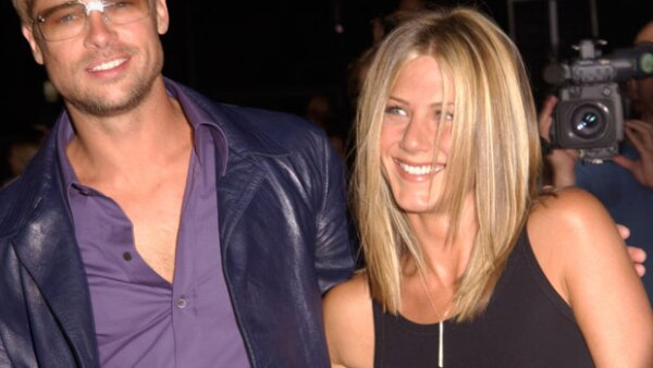 Jennifer Aniston, Brad Pitt.